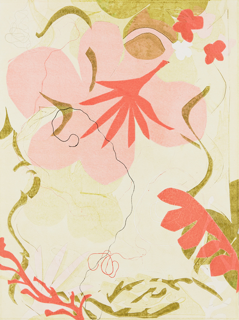 Cynthia MacCollum After Matisse Monoprint