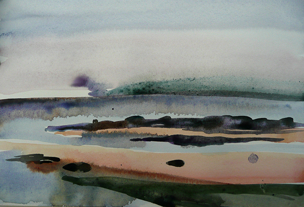 Cynthia Sobel Landscapes: Oil and Watercolor Paintings watercolor on paper