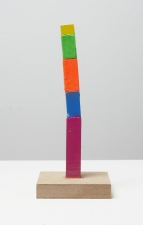 Damien Hoar de Galvan sculpture 2008-2011 wood, paint, mdf