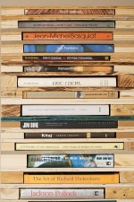 Damien Hoar de Galvan sculpture 2008-2011 wood, books, casters