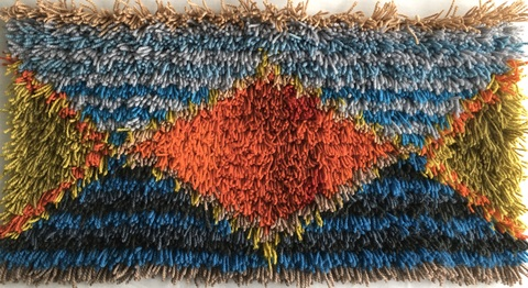 Dana Pasila Ryijy Weavings Wool and linen