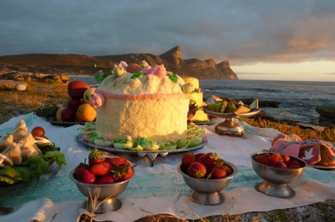 Picnic at Cape Point, 2012 Picnic at Cape Point (Invitation)