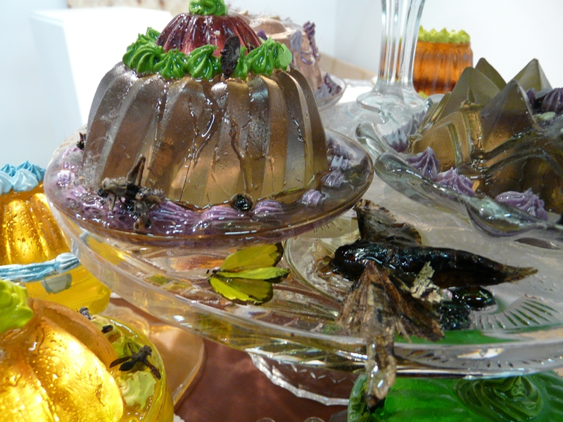 Confectionery Marvels, 2006 - ongoing Table of Confectionary Marvels (detail)