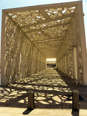 Photgraphy Screened Tunnel, Doha, Qatar