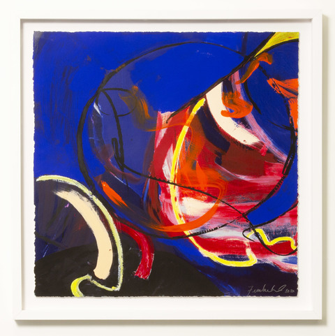 DANIELLE FRANKENTHAL New Image Gallery monotype with paint