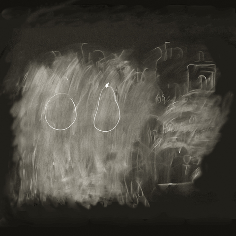 Daniel Ranalli  Erased Chalkboards Photograph