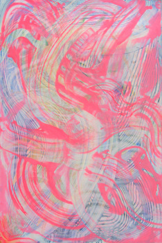 DANIEL ROSENBAUM Paintings 2013-2014 acrylic on canvas