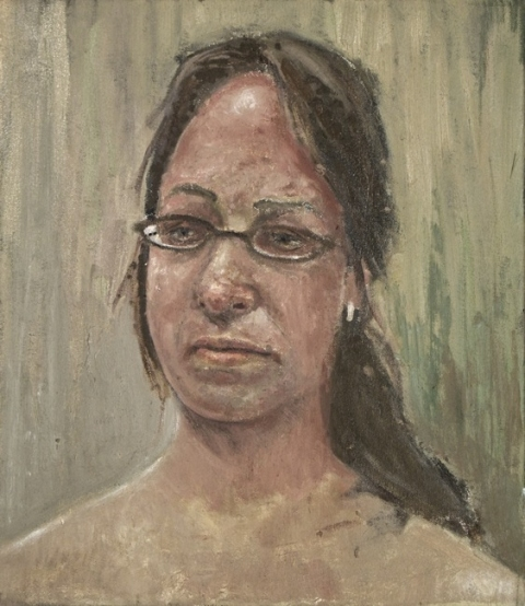Danny Turitz Close Portraits Oil on canvas