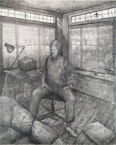 Danny Turitz Drawings graphite on paper