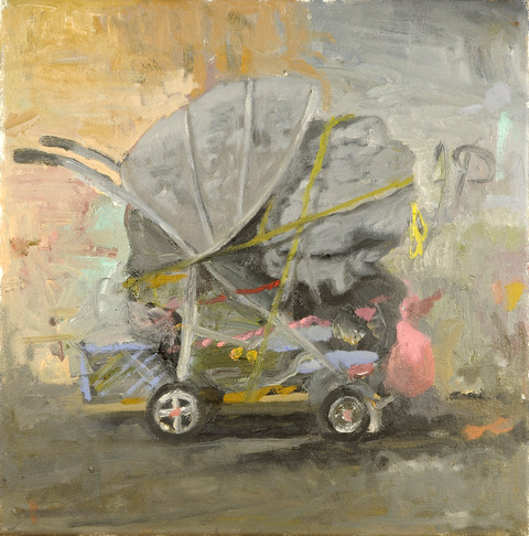 Danny Turitz Recent Paintings Oil on canvas