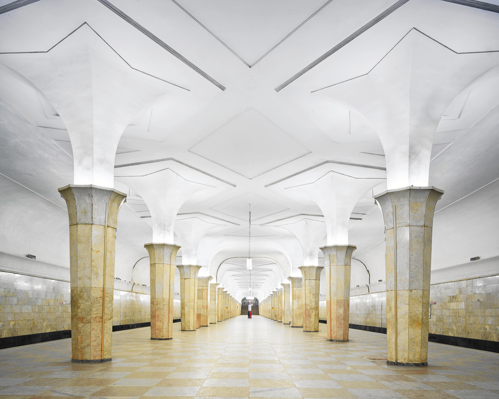 RUSSIA: A Bright Future,  2014-2015 Kropotkinskaya Station, Moscow Russia, 2015