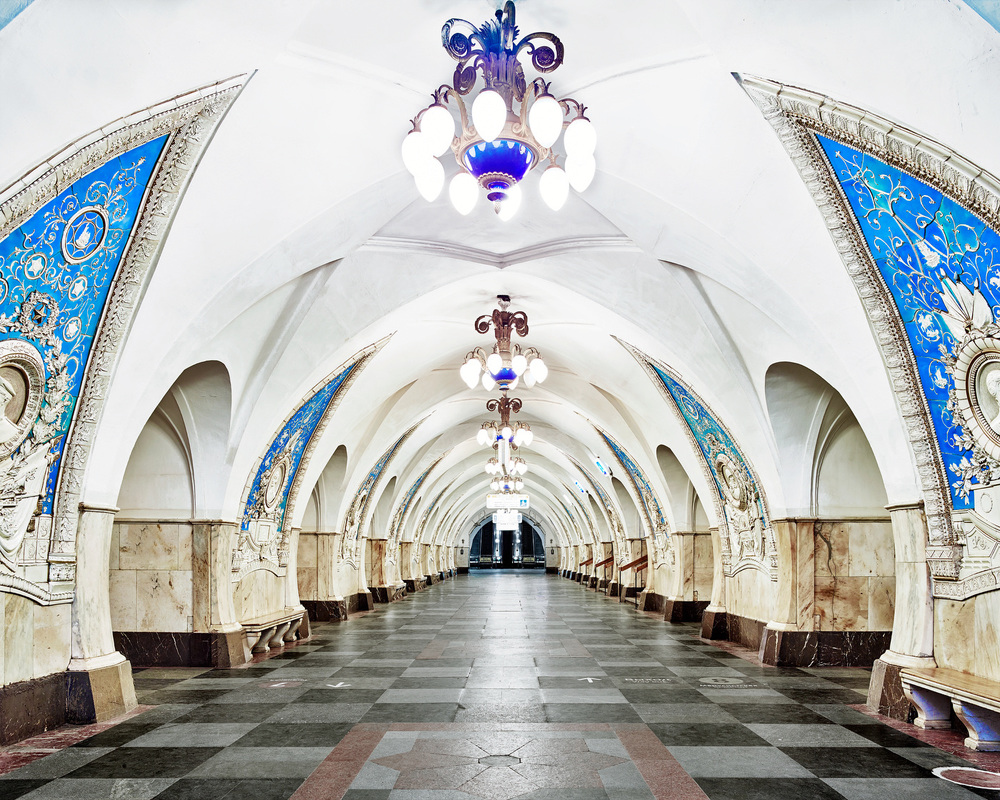 RUSSIA: A Bright Future,  2014-2015 Taganskaya Metro Station, Moscow, Russia, 2015