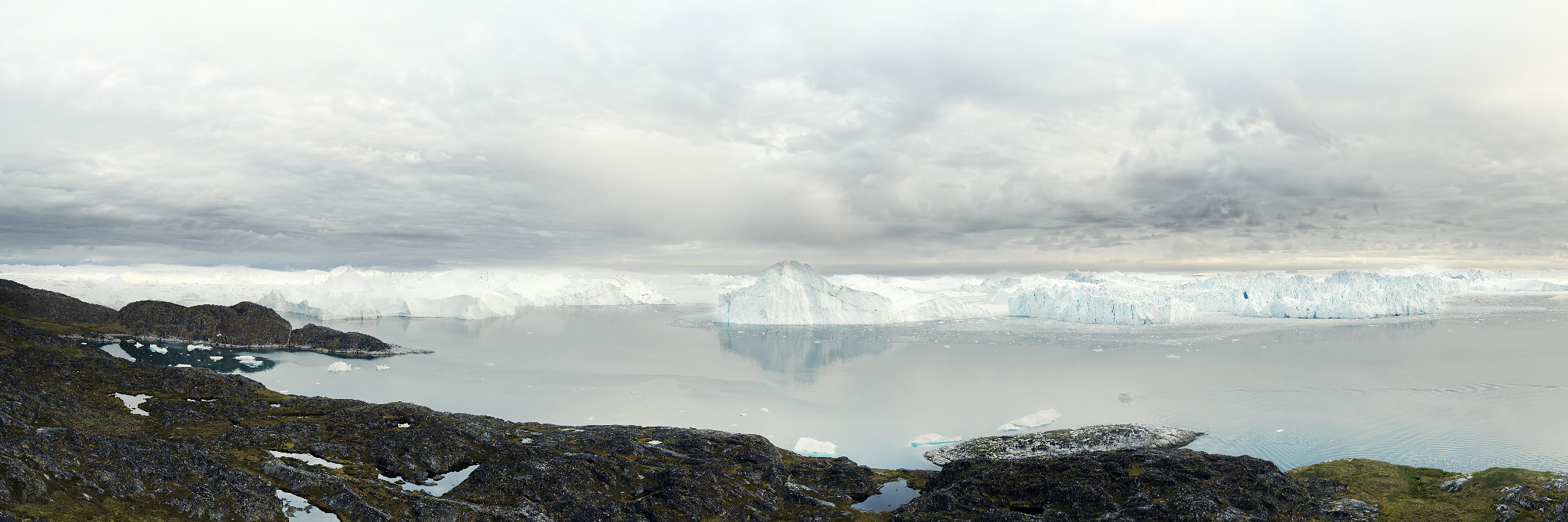 NORTH/SOUTH Ilulissat Icefjord 04, Greenland, 2008