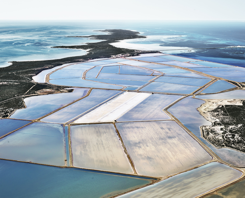 SALT:  Fields, Plottings and Extracts 2015-2016 Blue Ponds 04, Shark Bay, Western Australia, 2015