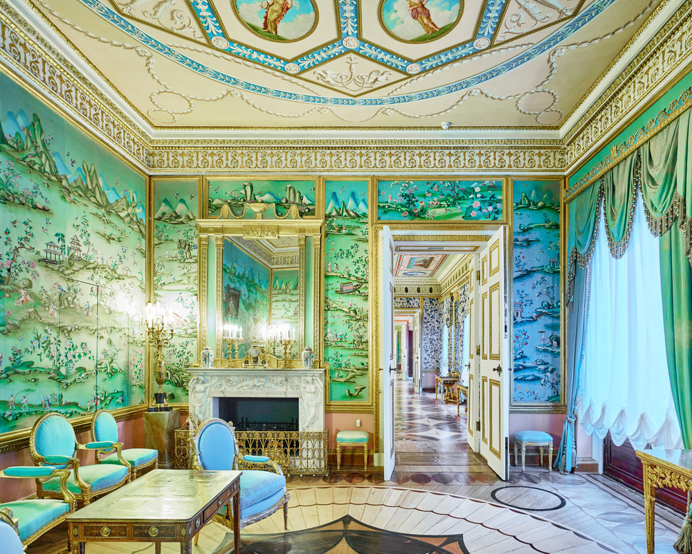 RUSSIA: A Bright Future,  2014-2015 Blue Drawing Room. Catherine Palace. Pushkin, Russia, 2014