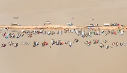 Floating Village, Tonle Sap Lake, Cambodia, 2012