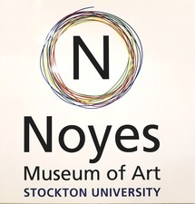 "Artist David A. French : Paintings and Works on Paper ""Chromatic Payoff"" Noyes Museum 2018-2019"