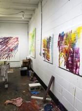 Artist David A. French : Paintings and Works on Paper Studio Visit 2019