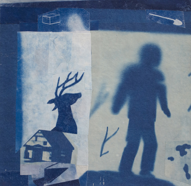 Cyanotype Collage 2018 Collector