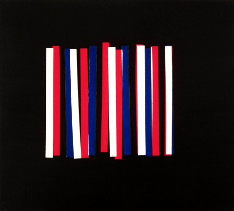 Untitled (Stripes Painting)