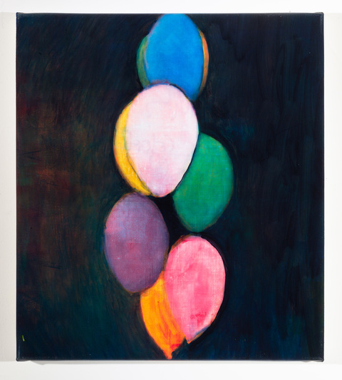 Studies for Colorful Paintings (Balloon Bouquet)