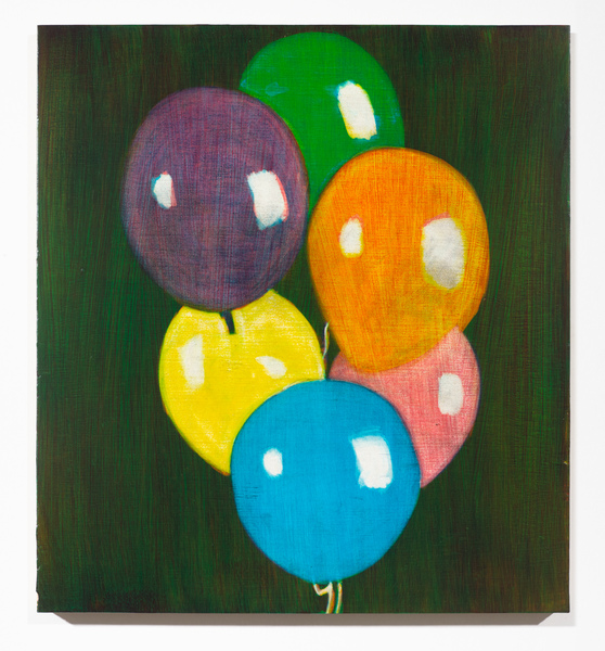 Studies for Colorful Paintings, 2017-2020 Balloon Bouquet