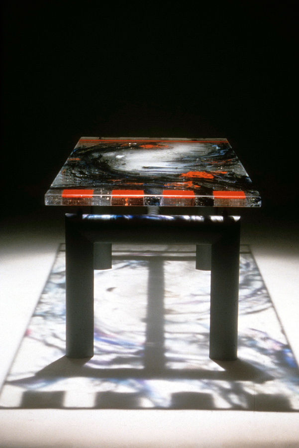 david ruth cast glass sculpture architectural