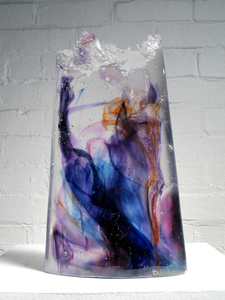 David Ruth Cast Glass Sculpture Kaveka Glass