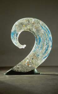 David Ruth Cast Glass Sculpture Commmissions  Cast glass, bronze