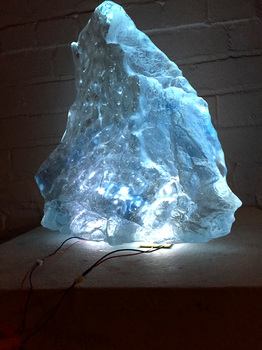 David Ruth Cast Glass Sculpture Photos