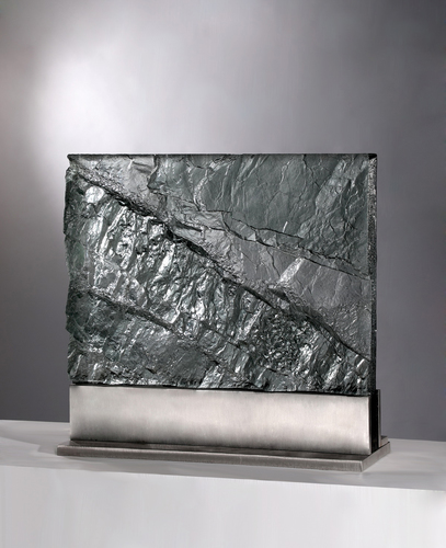 David Ruth Cast Glass Sculpture Geologic Editions Cast Glass