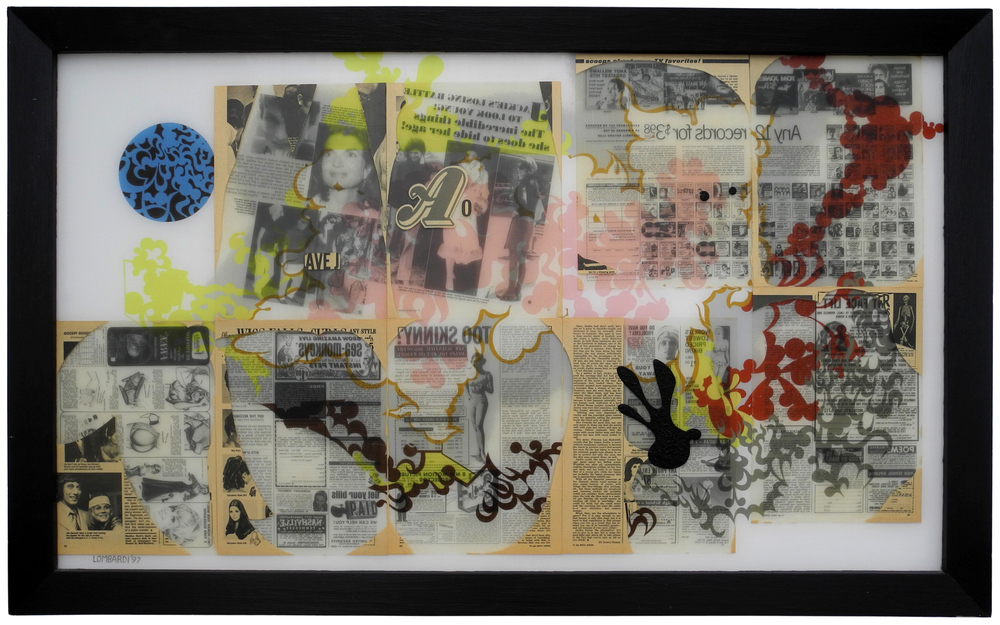 Reverse Collage 1995-1998  Reverse Collage #26