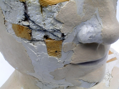 Vessel Series 1993-1994  Vessel Assemblage #7 (Don't Dream) (detail)