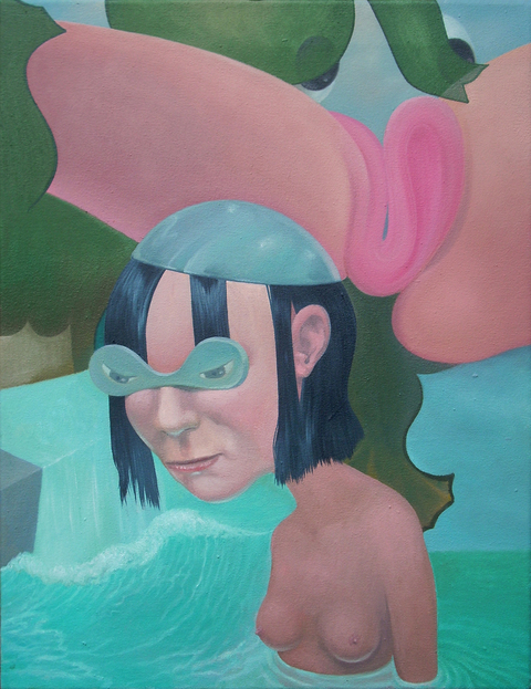 Shift Paintings 2013-15  The Small Bather