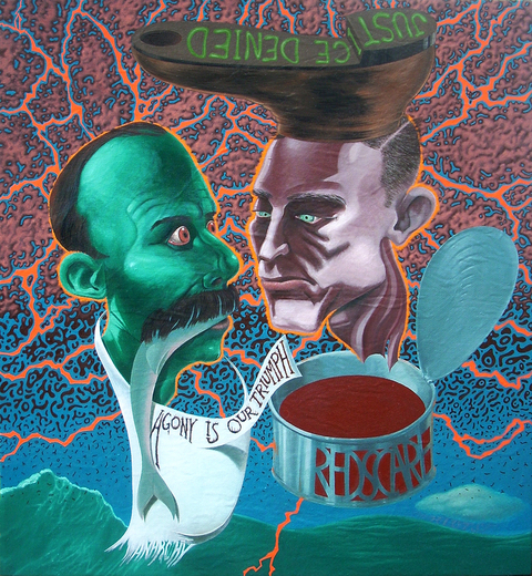 Shift Paintings 2013-15  Sacco and Vanzetti