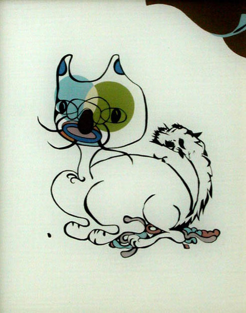 Post Apocalyptic Tattoo World  1998-2008  Kitten
