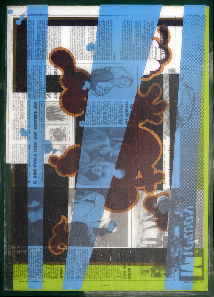 Reverse Collage 1995-1998  Reverse Collage #23