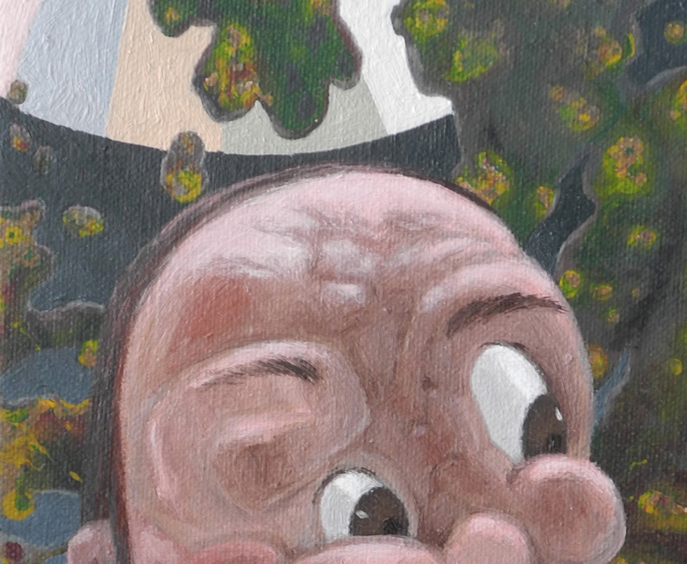 Shift Paintings 2013-15  Judas Iscariot (detail)