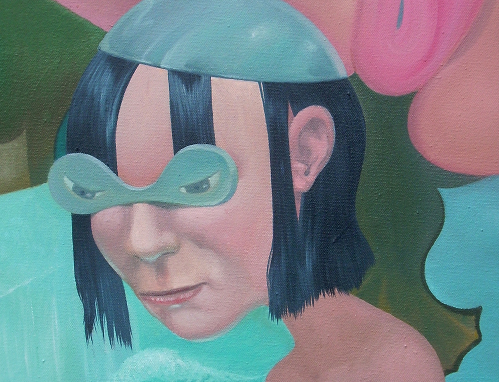 Shift Paintings 2013-15  The Small Bather (detail)