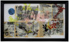 Reverse Collage 1995-1998  acrylic and transferred vintage magazine ink and pages on Plexiglas