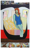 Archive 1975-92  acrylic on canvas and carved found wood