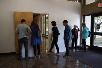 D. Dominick Lombardi - Fine Artist - Writer - Curator Opening Reception of Saints, Sinners and the Collective Unconscious @ UMASS/Amherst (2017)