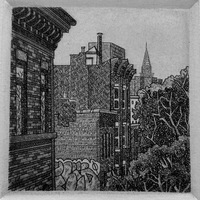 DeAnn L Prosia Etchings Line Etching