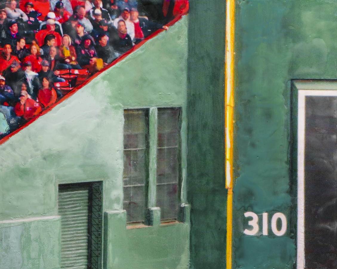 Fenway Park Art Gallery Left Field