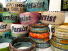Ms. Beaux Bangles Wood bangles embellished with paint, glitter, gems
