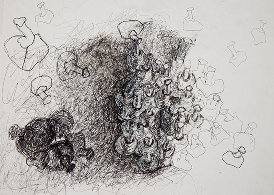 DRAWINGS Untitled  l  2004.