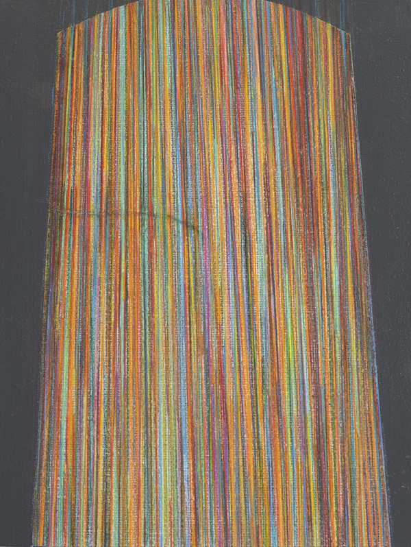 Deborah Davidson Recent Work Color pencil on prepared panel