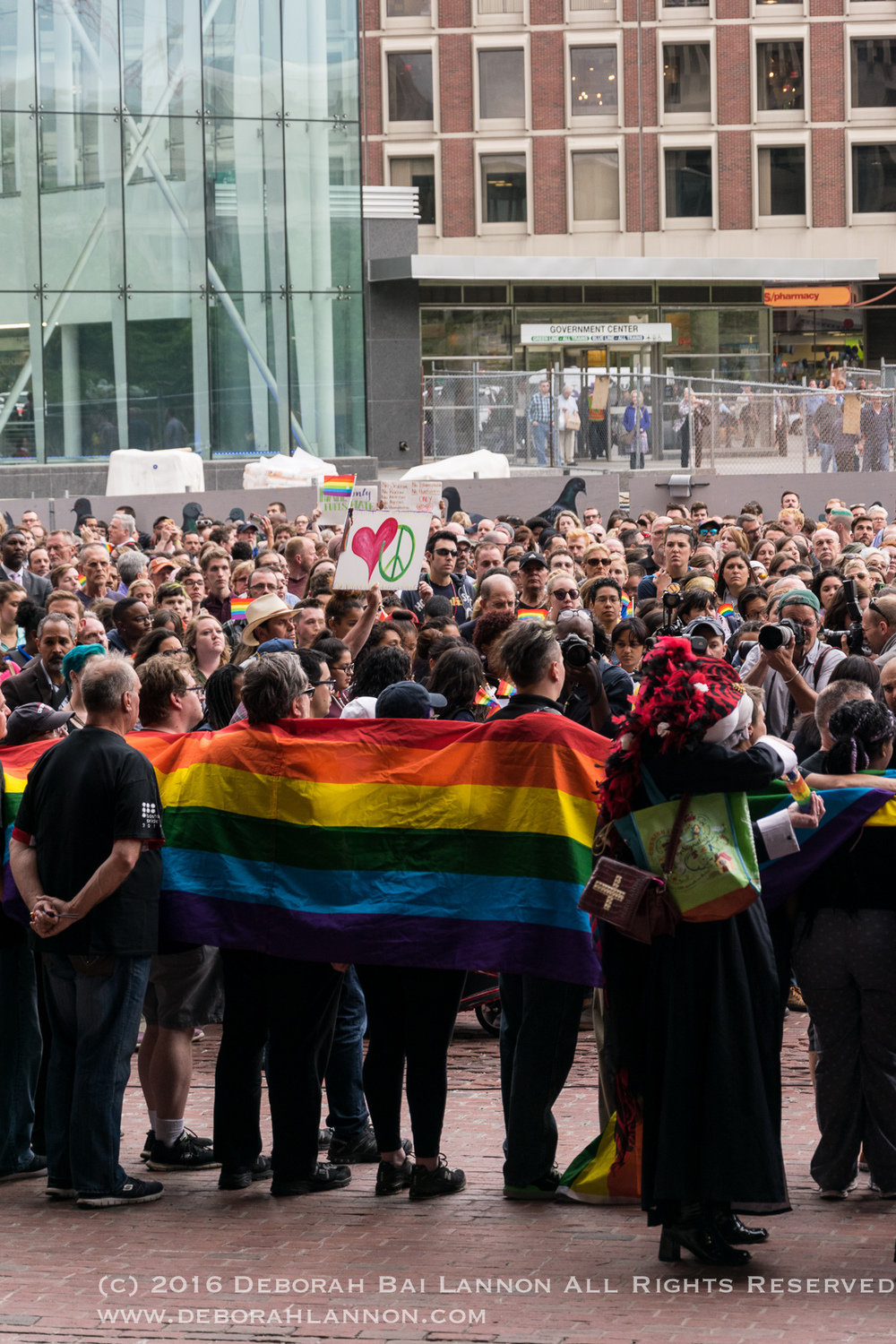Boston Responds - Pulse Nightclub Massacre