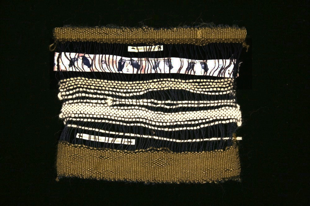 Textiles Knit one pearl two.