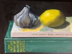 Deborah Pohl  Still Lifes Oil on canvas board